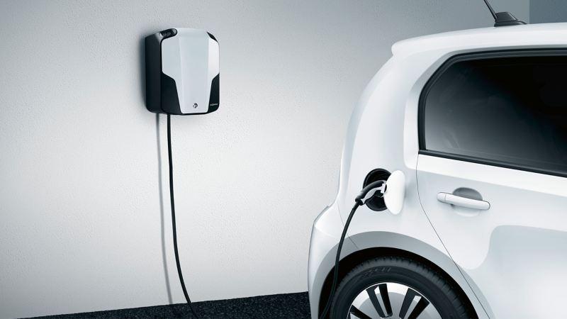 VW load up! laddas med hjälp av laddbox