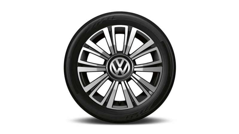 VW Polo UNITED Felge la boca black