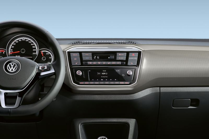 "VW up! dash pad ""pixels neural"""