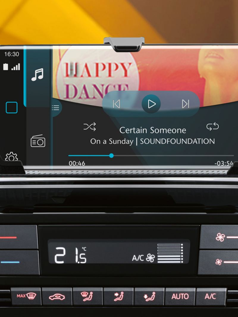 Detail Radio und maps + more dock im neuen e-up!