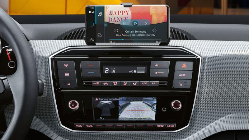 e-up! Radio und maps+more dock