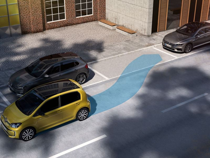 Park assist assistentsystem i Volkswagen e-up!
