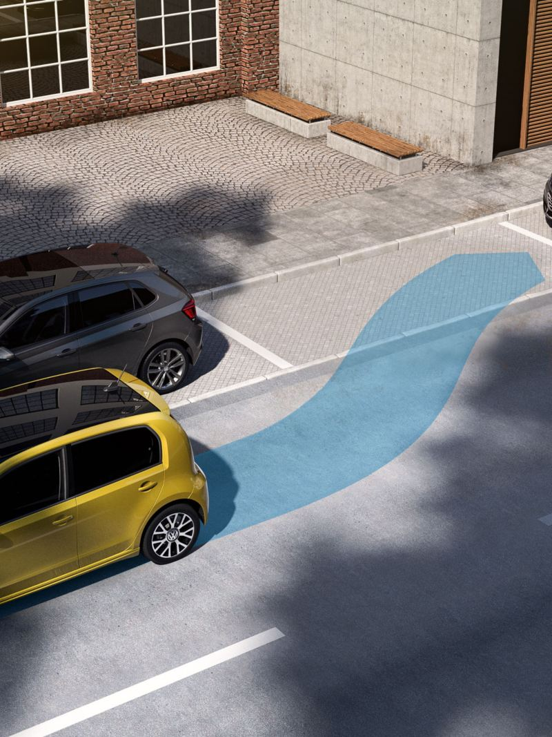 Park Assist im neuen e-up!