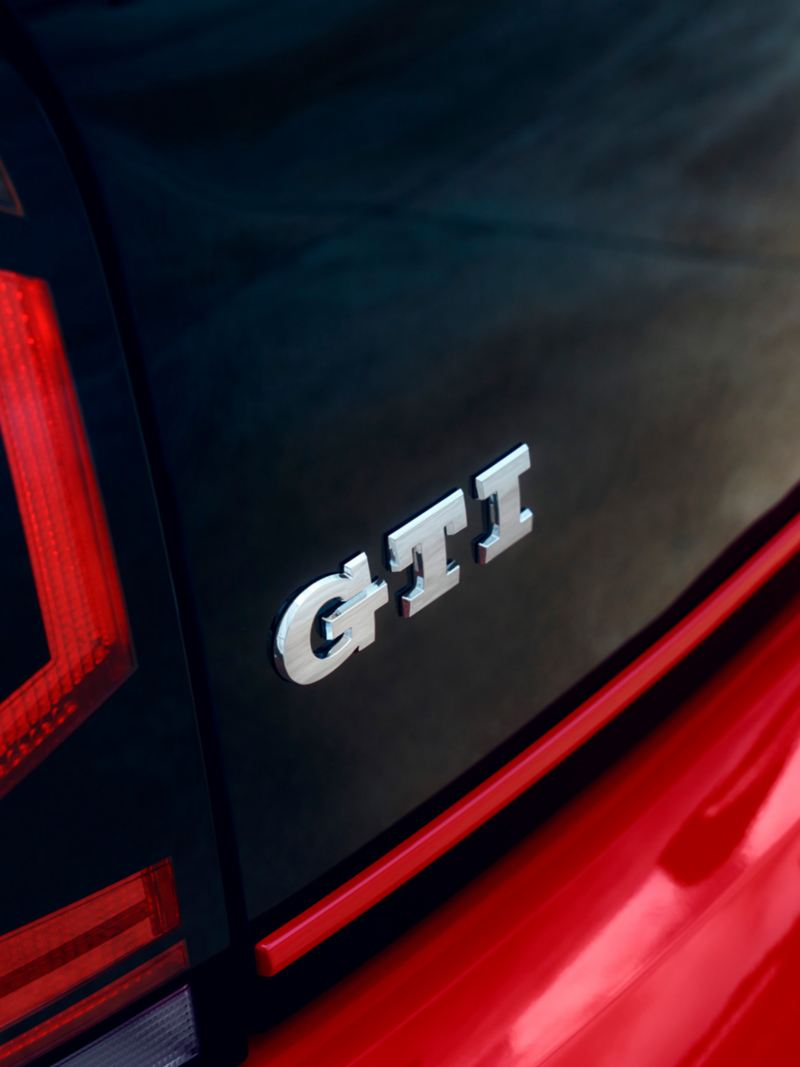 GTI-Badge am Heck