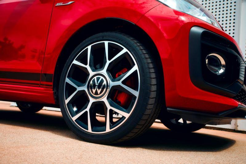 """Jantes en aluminium de 17"""" up! GTI «brands hatch»"""