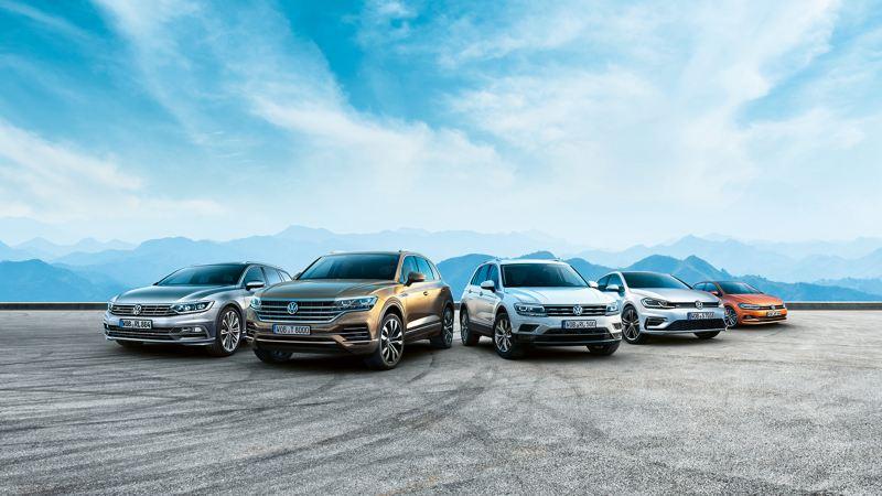VW Jahreswagen Golf, Touareg, Tiguan, Polo, Passat Variant