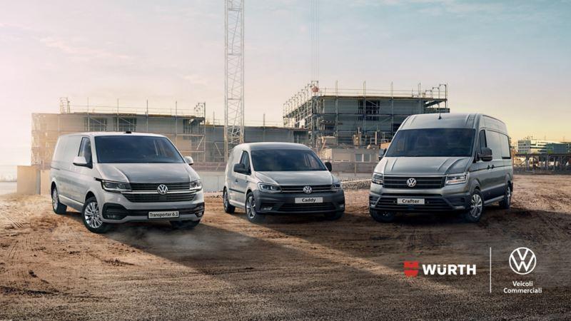 Volkswagen Veicoli Commerciali in partnership con Würth