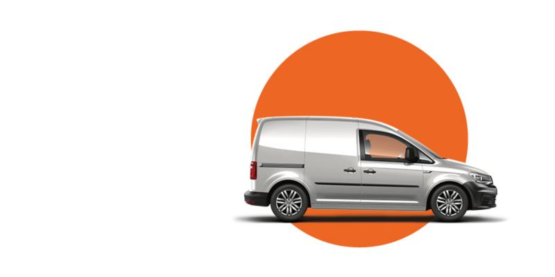 Caddy used van