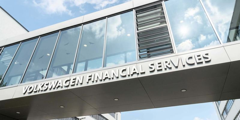 particolare sede Volkswagen Financial Services Milano