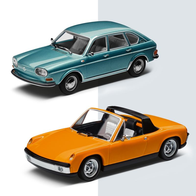 Modellino Volkswagen Porsche Type