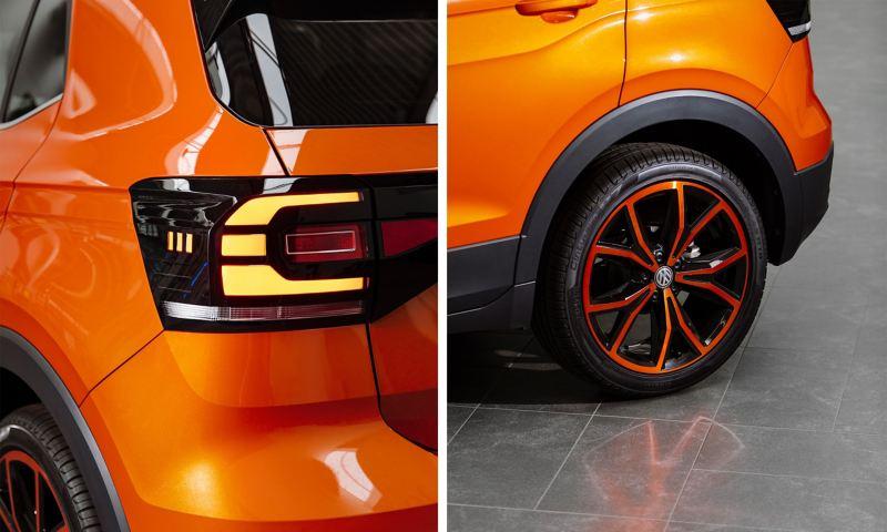 Design-Details beim T-Cross: Felge