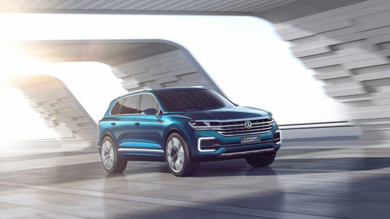 T-Prime Concept GTE - Conoce la camioneta híbrida de Volkswagen