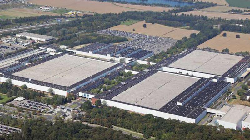 Panorama des Volkswagen Standortes Salzgitter