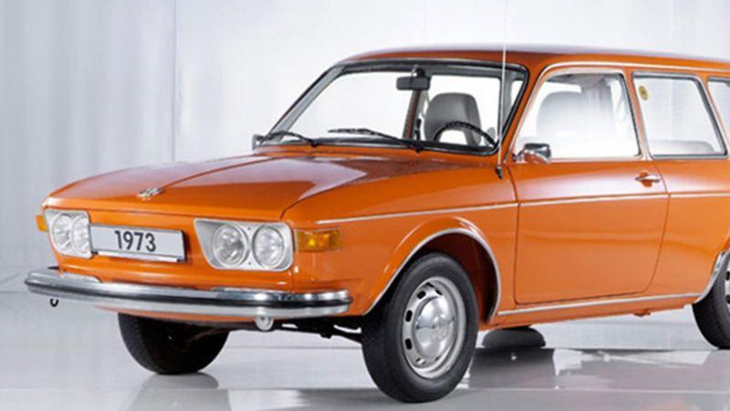 Auto clásico VW - Volkswagen 411 (Type 4) modelo 1968
