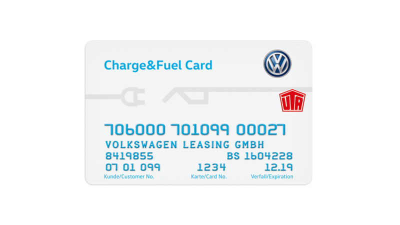 VW Charge & Fuel Card