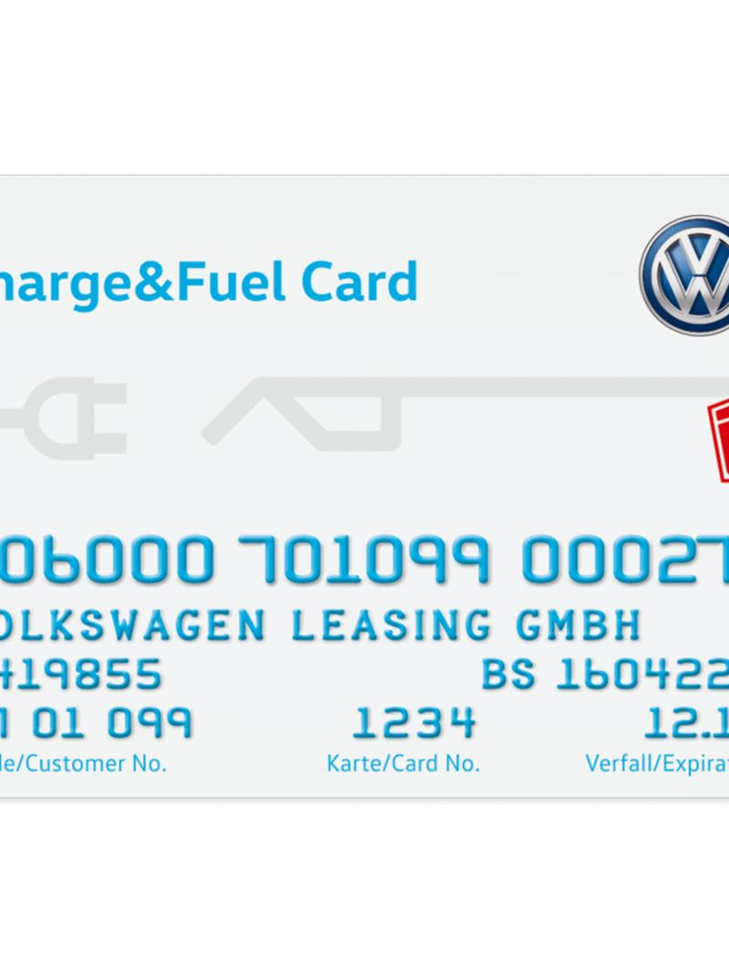 Charge&Fuel Card from the Volkswagen Leasing GmbH
