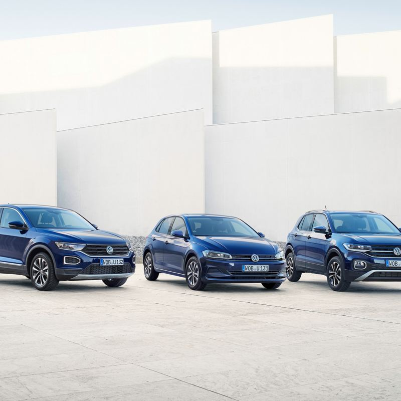 VW UNITED Range T-Roc, Polo, T-Cross