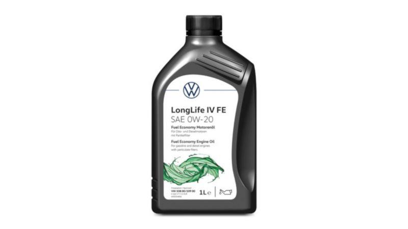 Volkswagen Genuine Fuel Economy Engine Oil LongLife IV