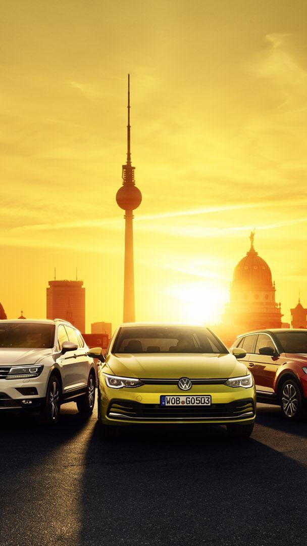VW Fahrzeuge im Panorama