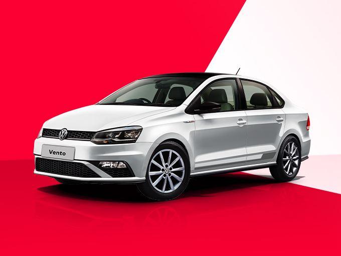 Volkswagen Vento Read and White Edition
