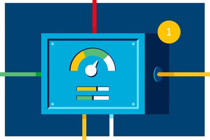 Ilustração Sistema de Gestão de Energia EMS
