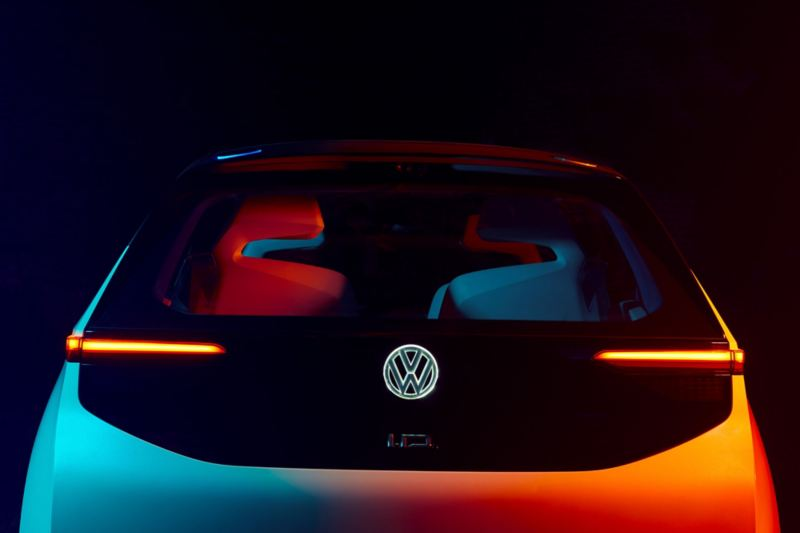 Rear lights of the ID. concept car.