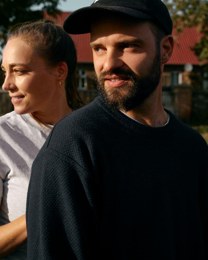 Portrait de Marcus et d'Anna.