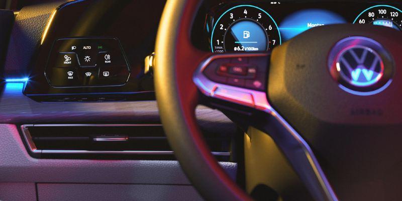 Die digitale Instrumentenanzeige ist Teil des Innovision Cockpits.