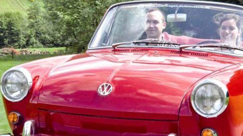Volkswagen 1500, el auto clásico convertible modelo 1961