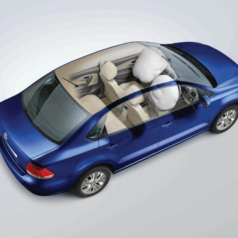 Volkswagen Ameo Airbags