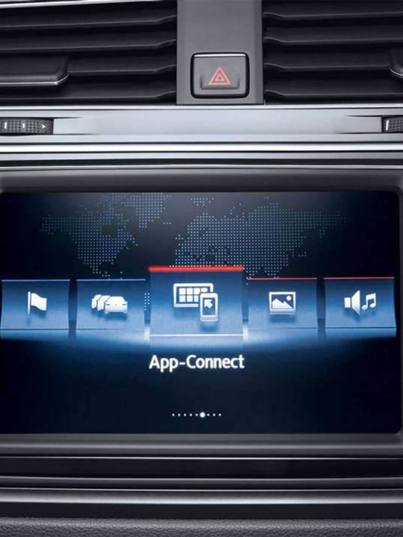 Volkswagen Comfort Multifunction Display