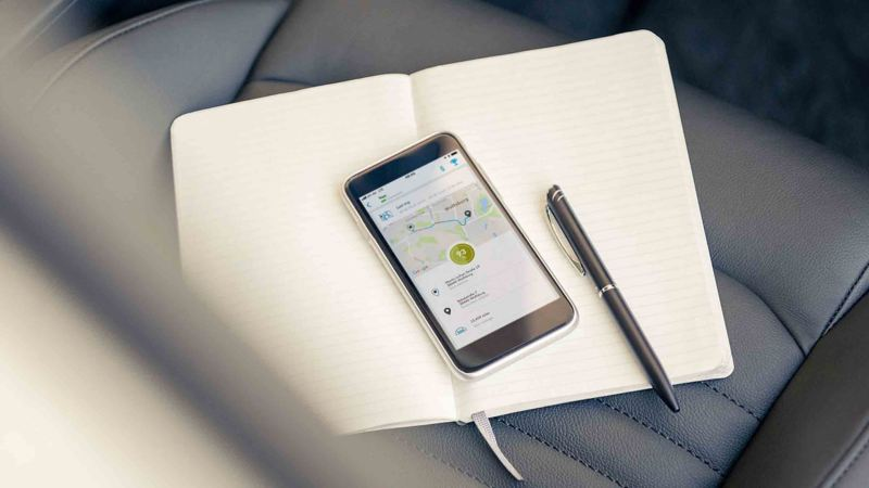 Volkswagen Connect Digital Logbook