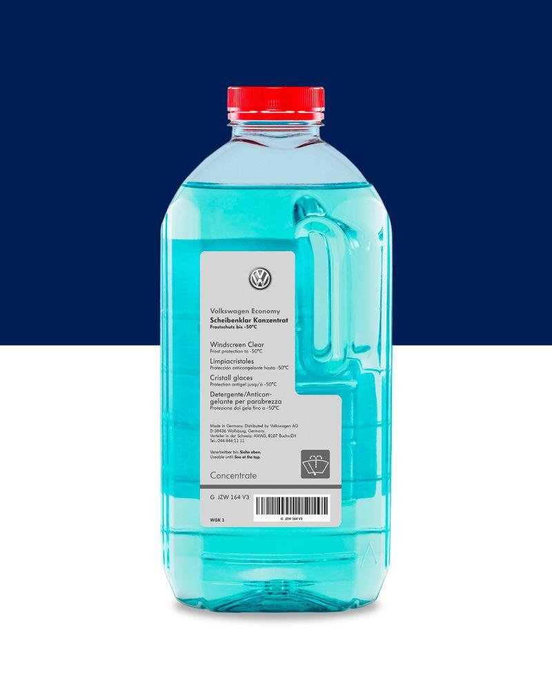 Liquido detergente per parabrezza Volkswagen.