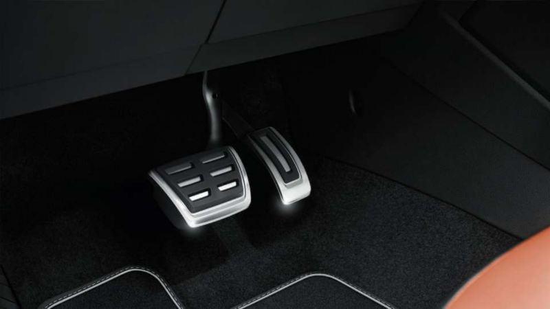 Volkswagen Genuine Pedal caps DSG