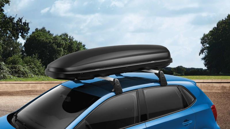 Volkswagen Genuine Roof Box Matt Black