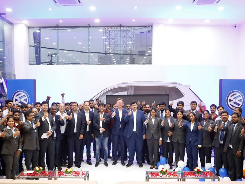 Volkswagen Hi-Tech City inauguration