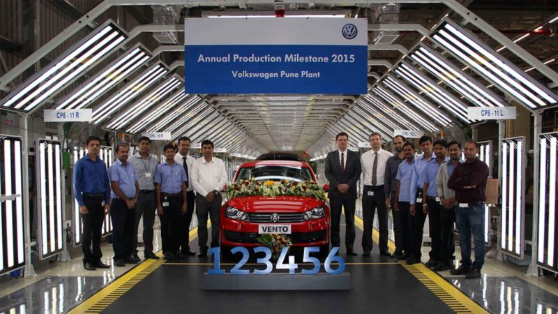 Volkswagen India Production 1