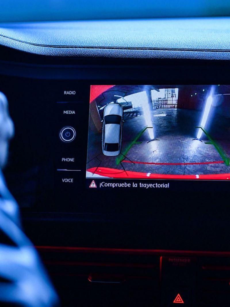 Cámara de visión trasera del Jetta GLI 2020 de Volkswagen