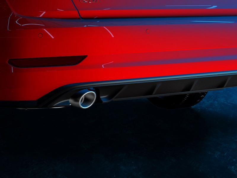 Doble escape deportivo del Jetta GLI 2020 de Volkswagen