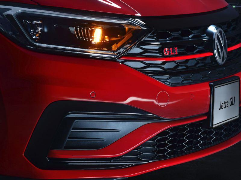 Parrilla frontal re-diseñada del Jetta GLI 2020 de Volkswagen