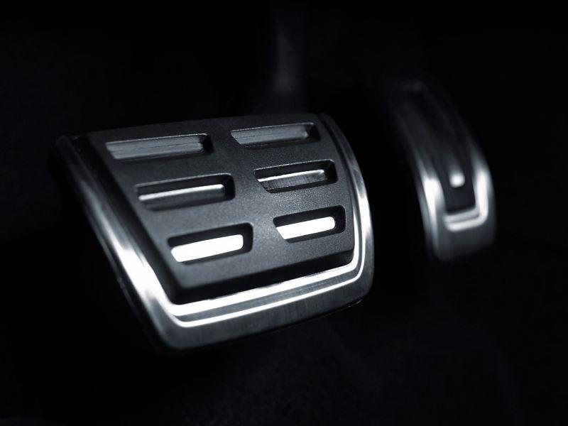 Pedales en aluminio del Jetta GLI 2020 de Volkswagen