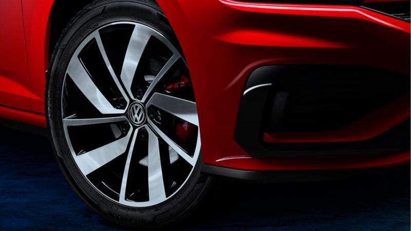 Rines de aluminio de 18'' del Jetta GLI 2020 de Volkswagen