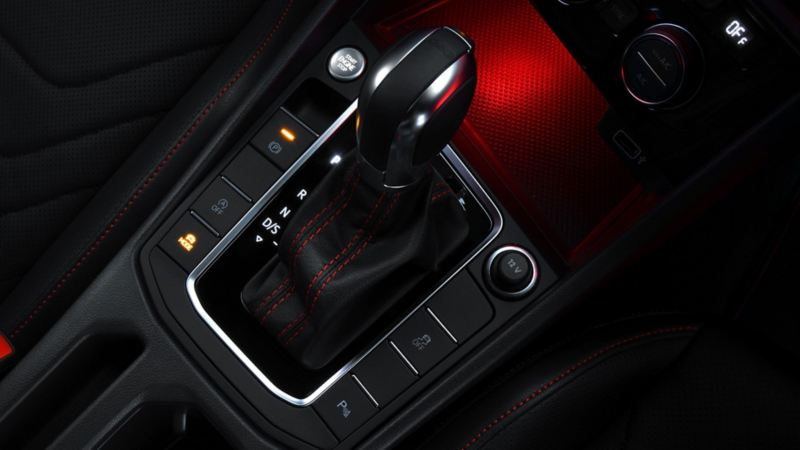 Palanca de cambios de la transmisión DSG del Jetta GLI 2020 de Volkswagen