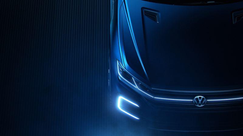 SUV T-Prime Concept GTE de Volkswagen con excelente autonomía en modo eléctrico