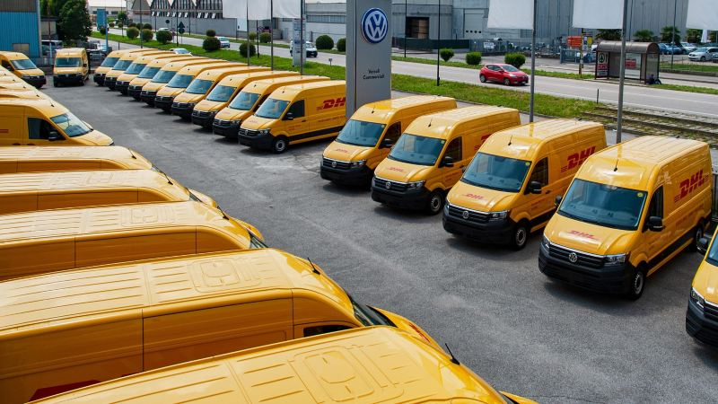 VIC consegna flotta a DHL