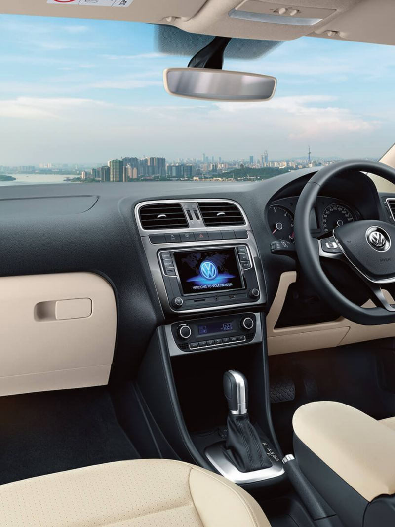 Volkswagen Vento Dashboard View