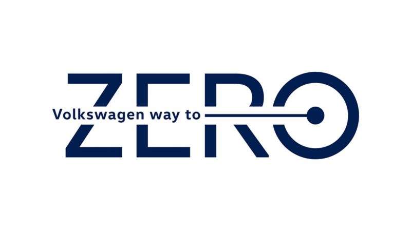 Logo Volkswagen Way to Zero