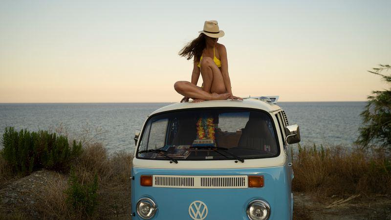Maries älskade VW-buss