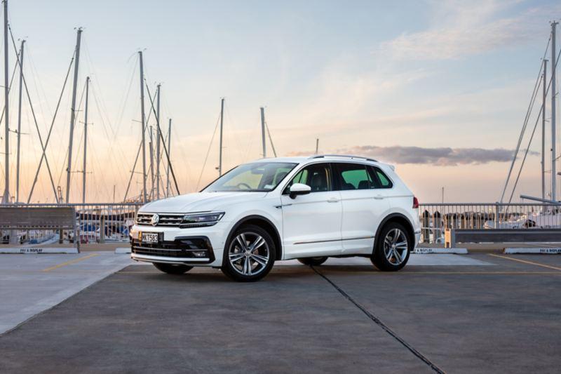 The Volkswagen Tiguan