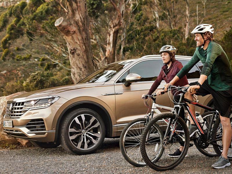 Em caso de emergência, o VW Touareg também o mantém ligado.